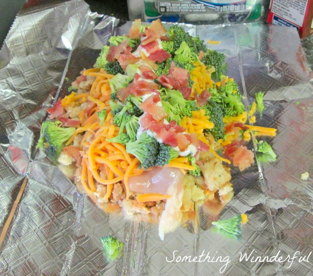 Camping Food Ideas In Foil: Foiled Wrapped Chicken Deliciousness