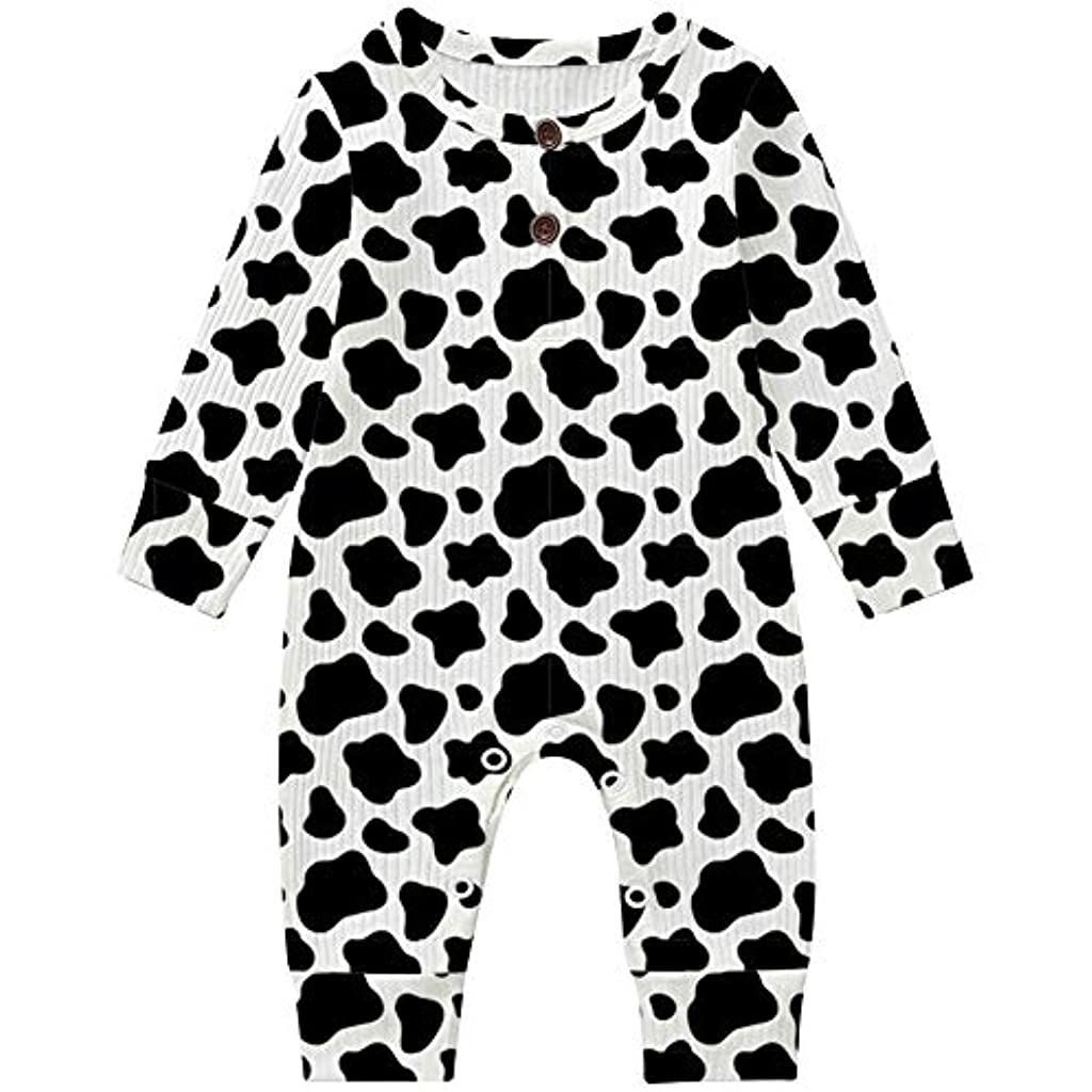 UNICOMIDEA Newborn Baby Girl Floral Romper Long Sleeve One Piece Outfits 0-18 Month