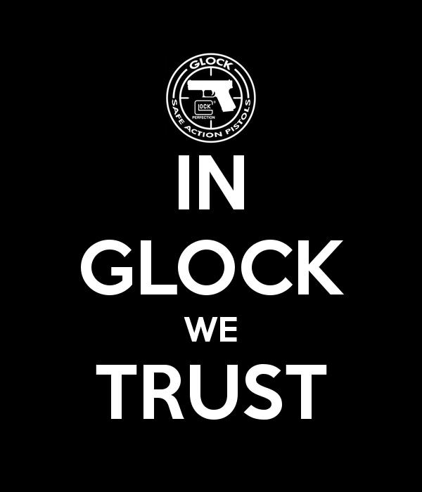 In Glock We Trust Wallpaper