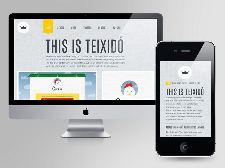 50 examples of responsive web design plus 1 web design