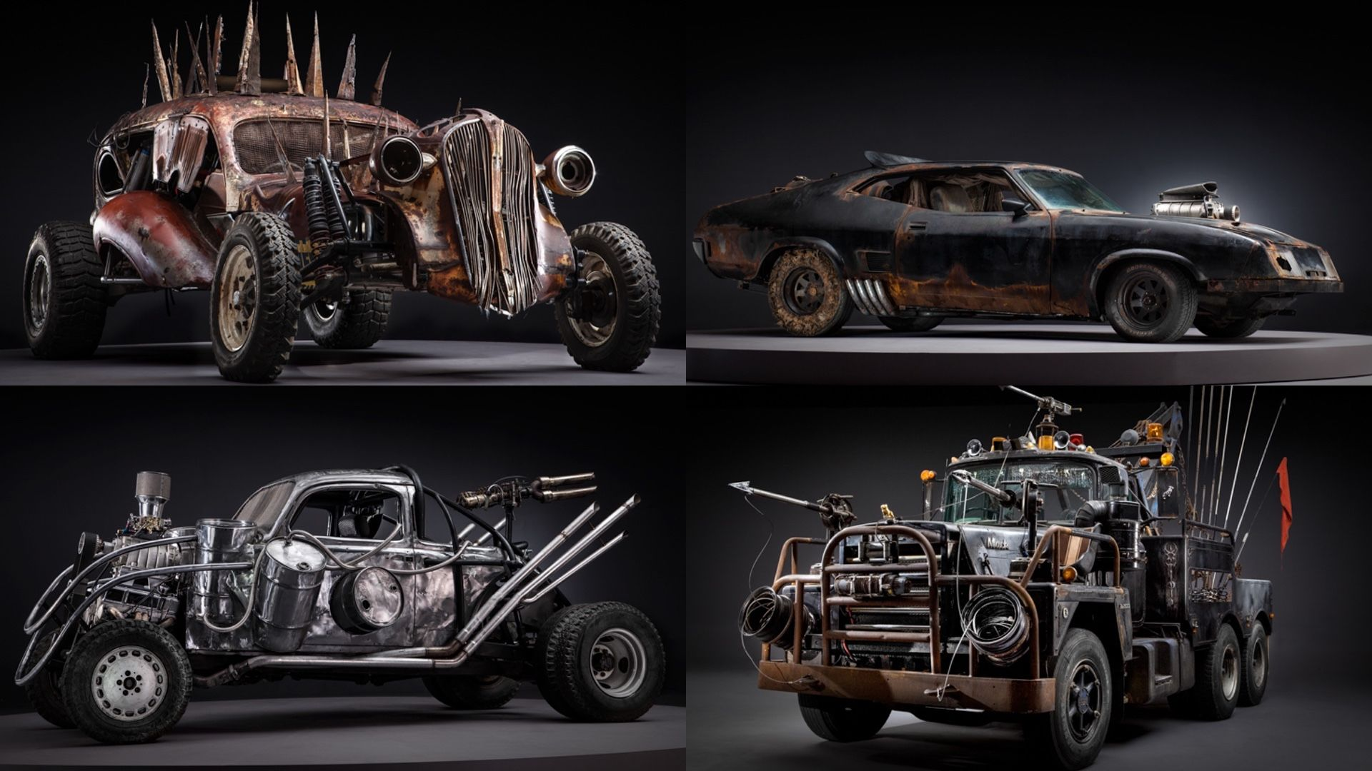 Stunning Photos Of The Badass Cars Of Mad Max Fury Road Before