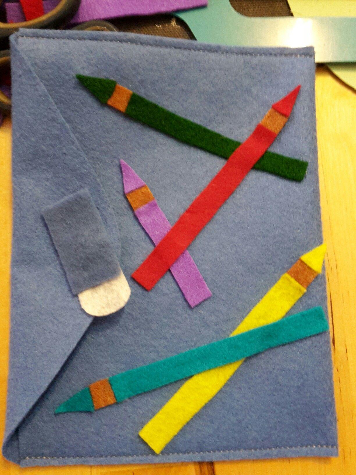 Busta porta libretto scolastico | linda | Pinterest