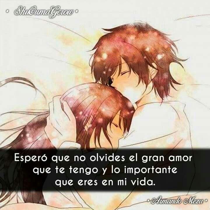 Pin De Hugo Hidalgo En Frases De Anime Pinterest Amor Frases De