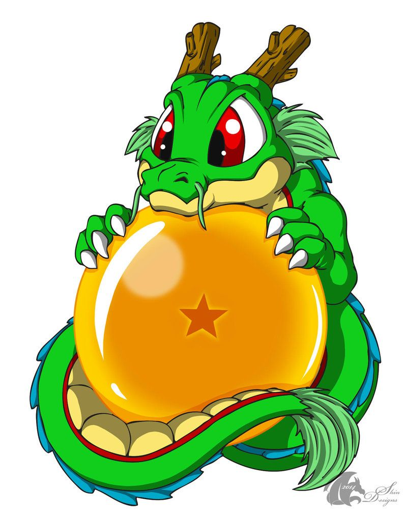 Anime dragon ball shenlong kawaii chibi esfera del dragon - Jeux info dragon ball z ...