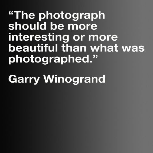 Garry Winogrand by TheBeachSaint, via Flickr