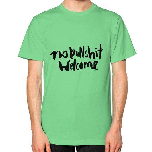 No Bull Welcome T- Shirt
