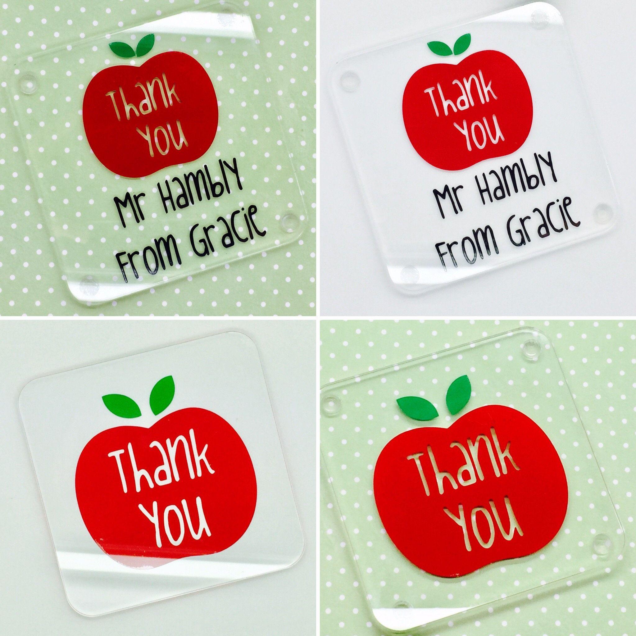 Personalised Teacher Gift Coaster Nursery Teaching Etsy Personalized Teacher Gifts Gift Coasters Teacher Gifts
