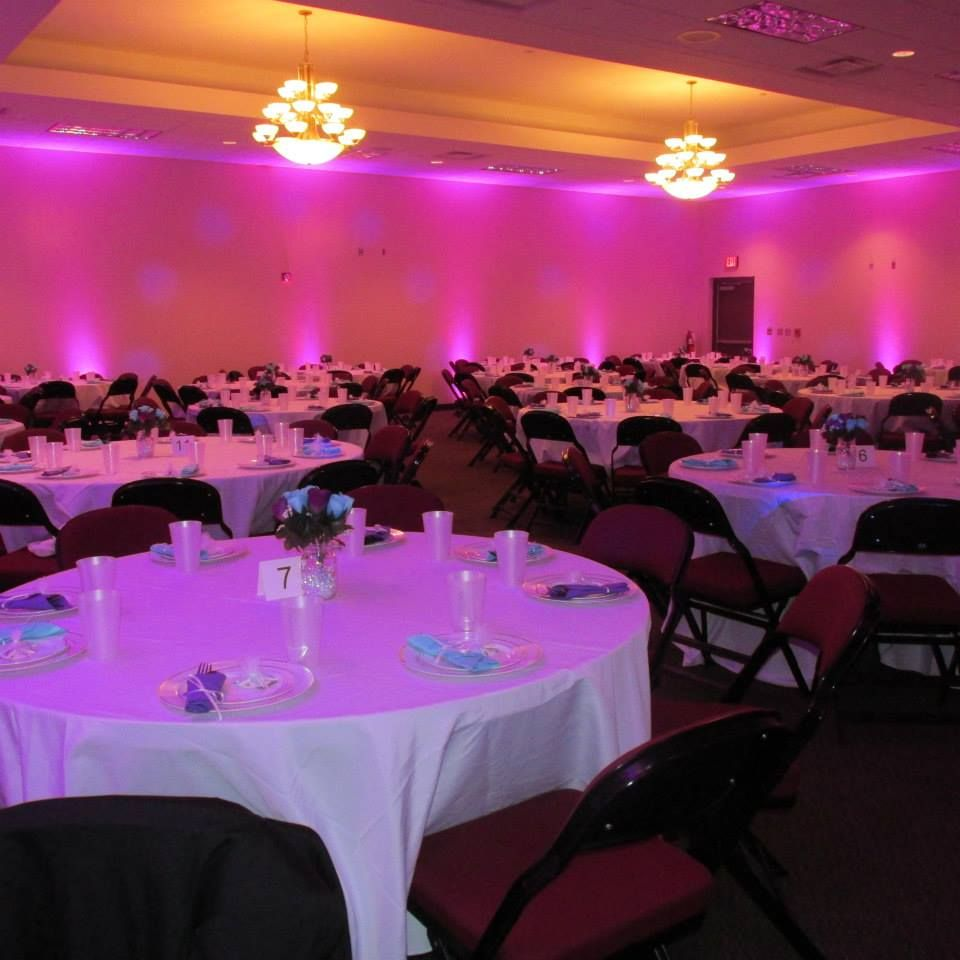 Simple changes to room lighting | Weddings & Receptions at Thrasher ...