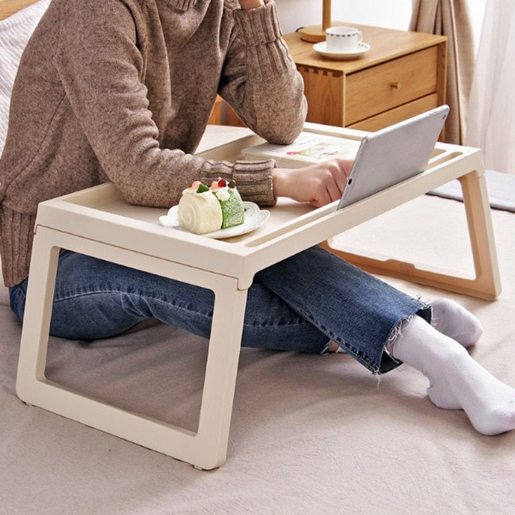 Laptop Table Folding Notebook Desktop Stand With Cooling Fan Bed
