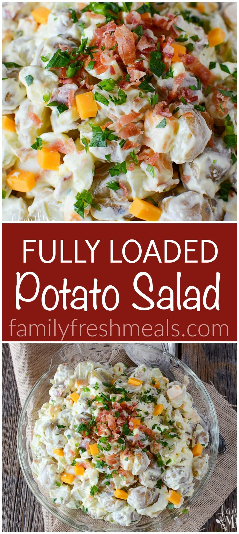 Loaded Potato Salad Recipe Easy