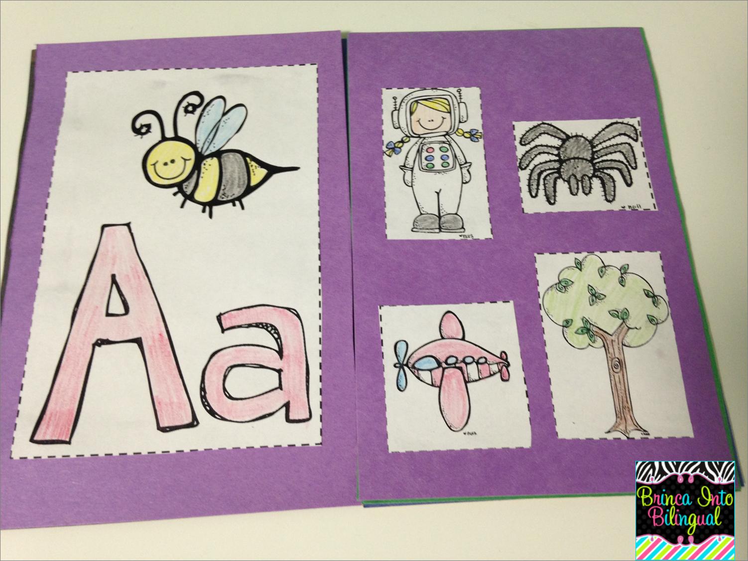 I Teach Bilinguals Bilingual Teaching Resources Alphabet