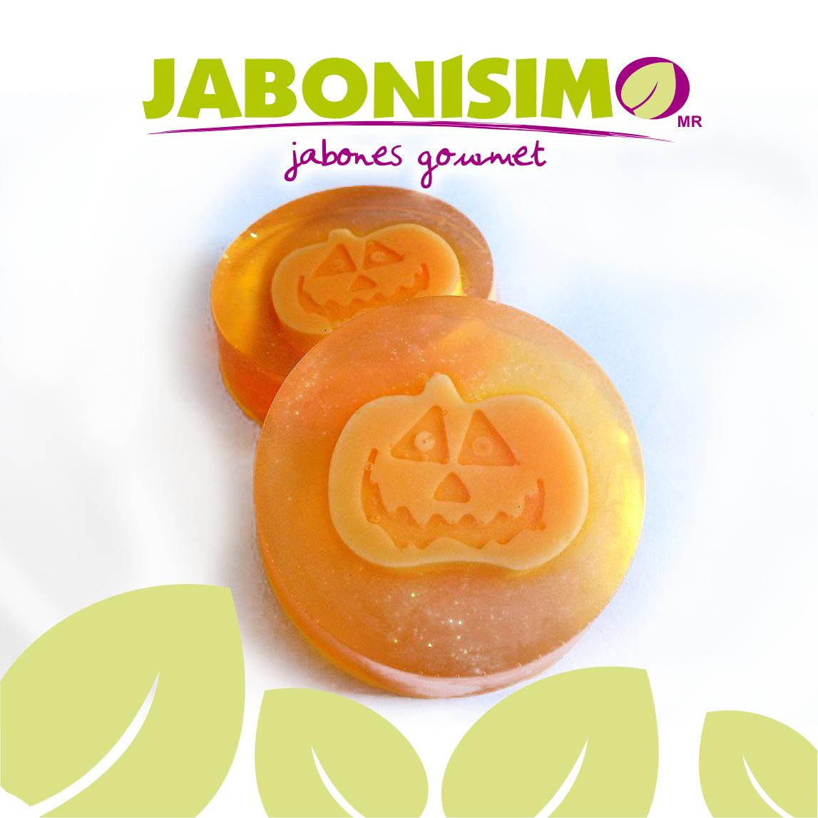Happy Pumpkin soap By Jabonísimo. Mérida, Yuc, Mexico. Tel