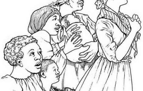 Coloring Pages Of Harriet Tubman  BLACK HISTORY MONTH  Pinterest