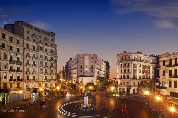 Talaat Harb Square, Cairo, Egypt.