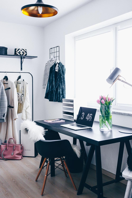 Mein Blogger Home Office: Stylisch, aber funktional | Pinterest ...
