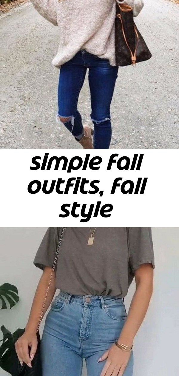 Simple fall outfits, fall style #falloutfitsschool2019