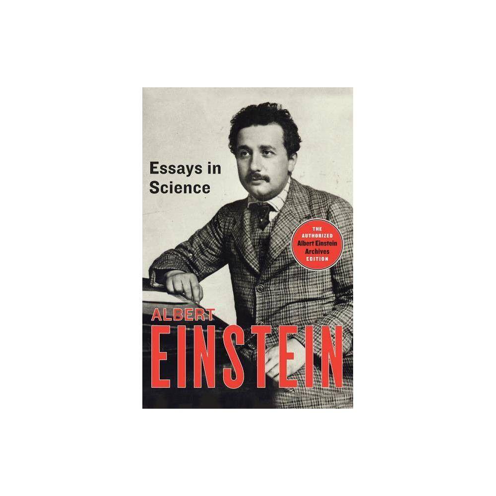 essays in science   by albert einstein paperback