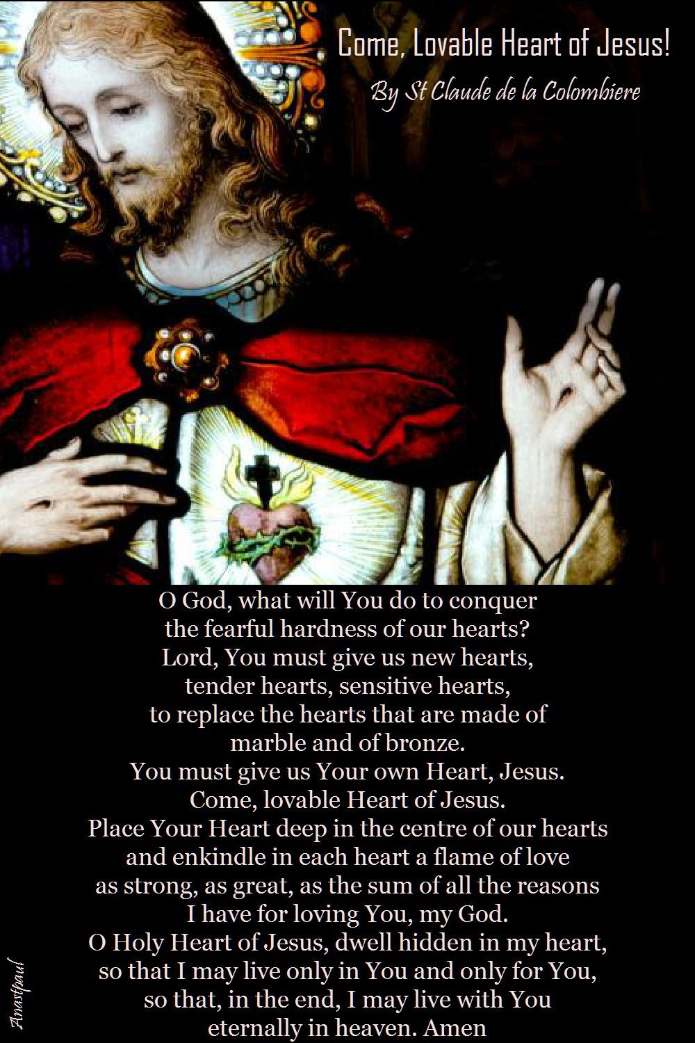 Our Morning Offering – 14 June Come, Lovable Heart of Jesus
