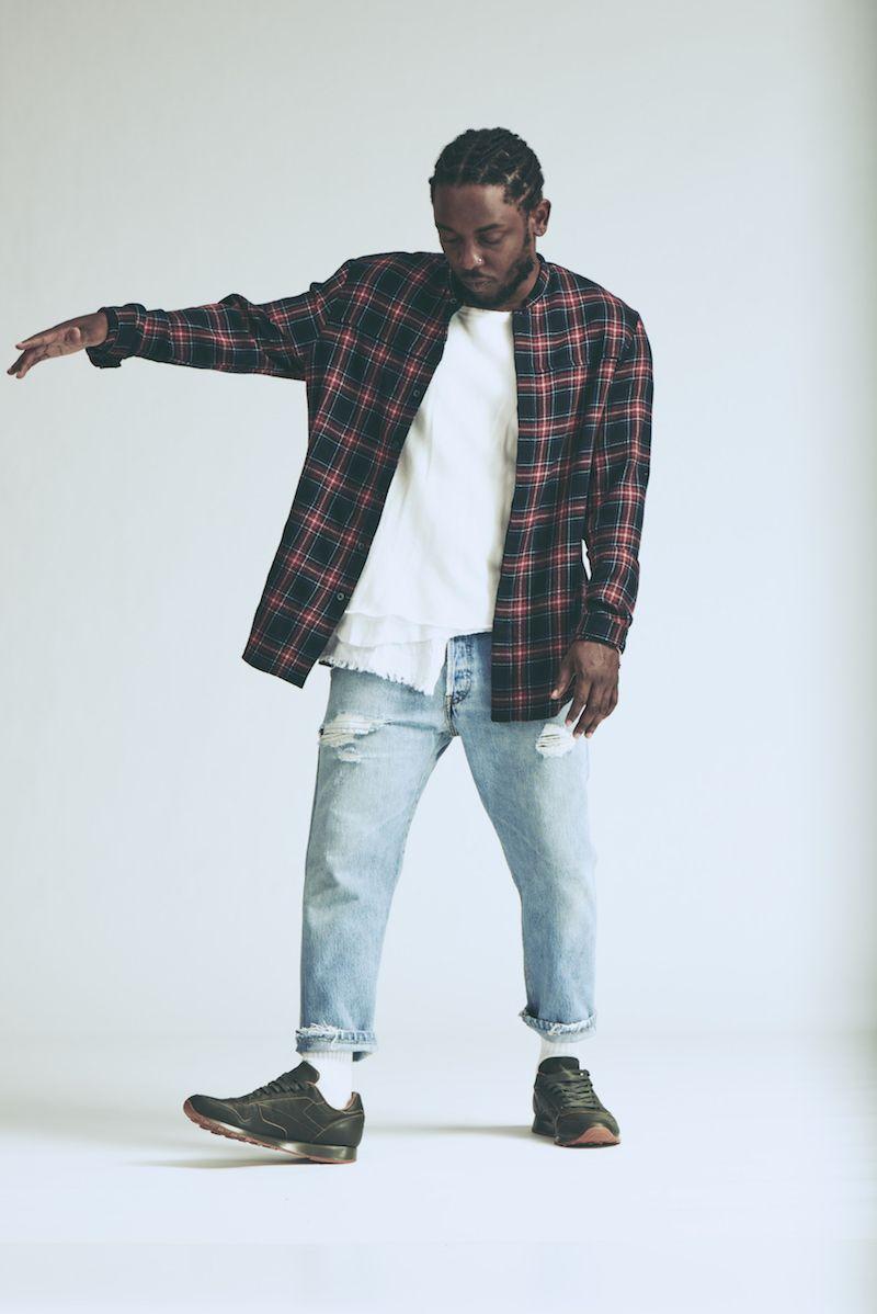 d6ae2fbfdebd6 Kendrick Lamar x Reebok Classic Leather Lux Olive Gum