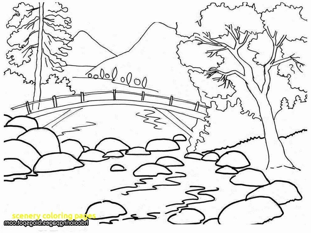 Nature Coloring Pages For Toddlers Fresh The Best Free Scenery