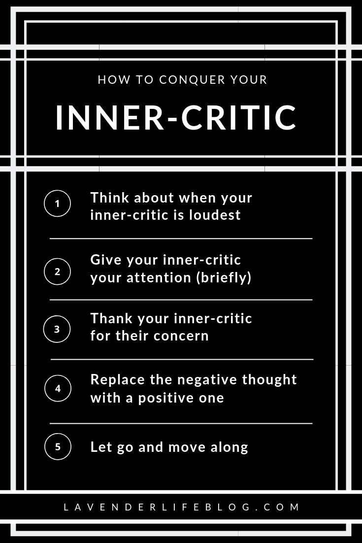 How to Conquer Your Inner-Critic