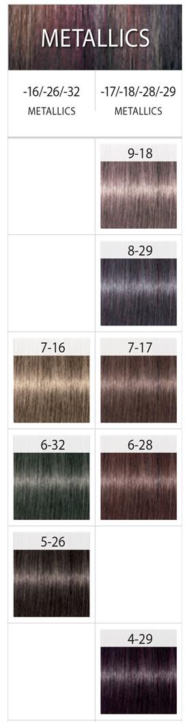 Igora Royal Metallics | haarfarben | Pinterest | Farbkarten ...