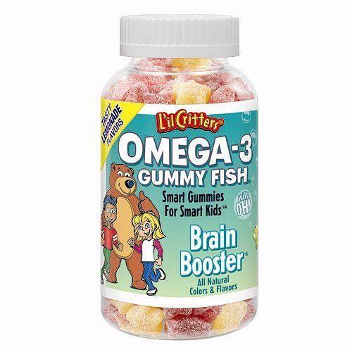 Memory Gummy Fish Vitamins For Kids Gummies