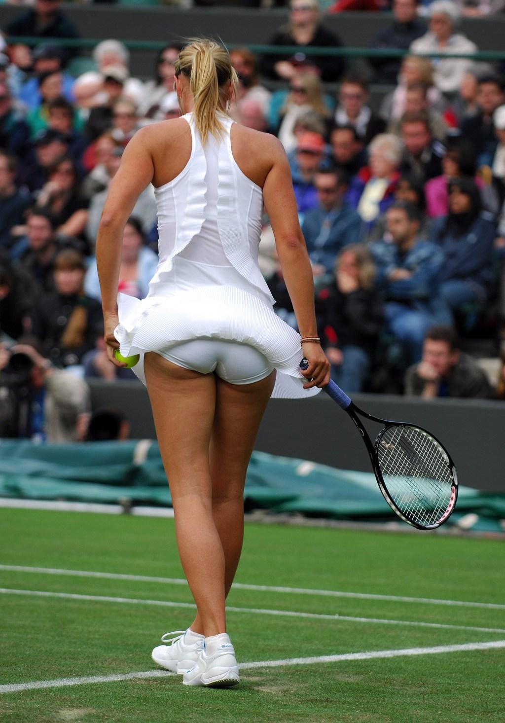 Maria Sharapova ass&Hegre-art Kasia pussy