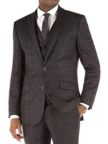 Suit Direct Ben Sherman Charcoal Flannel Check Kings Fit Suit Jacket - Slim Fit Mixer Jacket Charcoal 36R Ben Sherman http://www.amazon.co.uk/dp/B00OYTOD42/ref=cm_sw_r_pi_dp_dGOAub1SHMV29