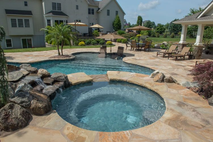 Custom Designed In Ground Pools And Spas In Northern NJ U2014 Pools By Design  New