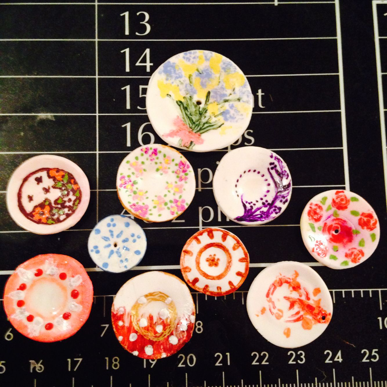 Polymer miniature plates!