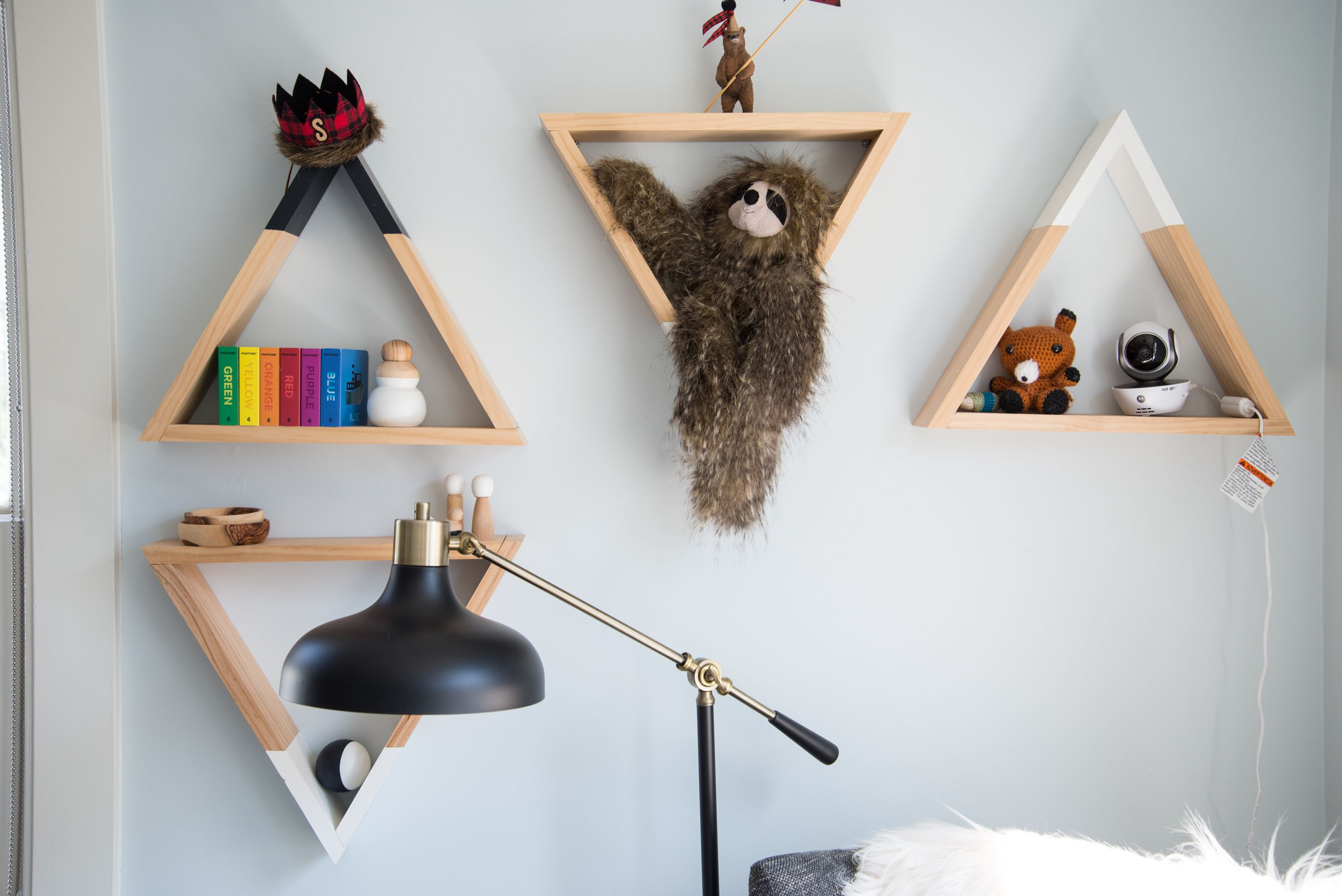 Rookie Renovators Nail it on the First Try | Triangle shelf, House ...