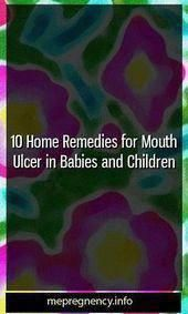 10 Home Remedies for Mouth Ulcer in Babies and Children #conceive #kid-straining...,  #babies...