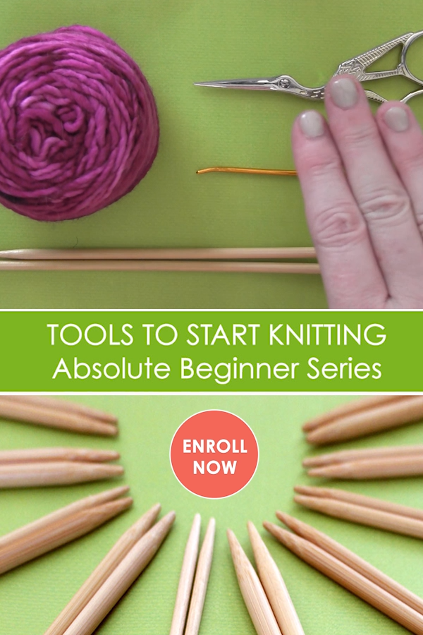 Photo of Knitting Tools for Absolute Beginners