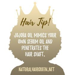 What Natural Oils Penetrate the Hair Shaft? #naturalhaircare