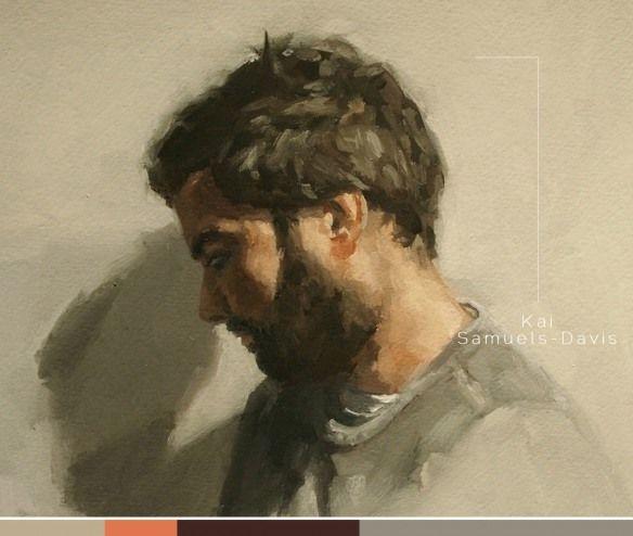 Artist Showcase: Kai Samuels Davis (The storyteller's paintings) #oil #painting #portrait