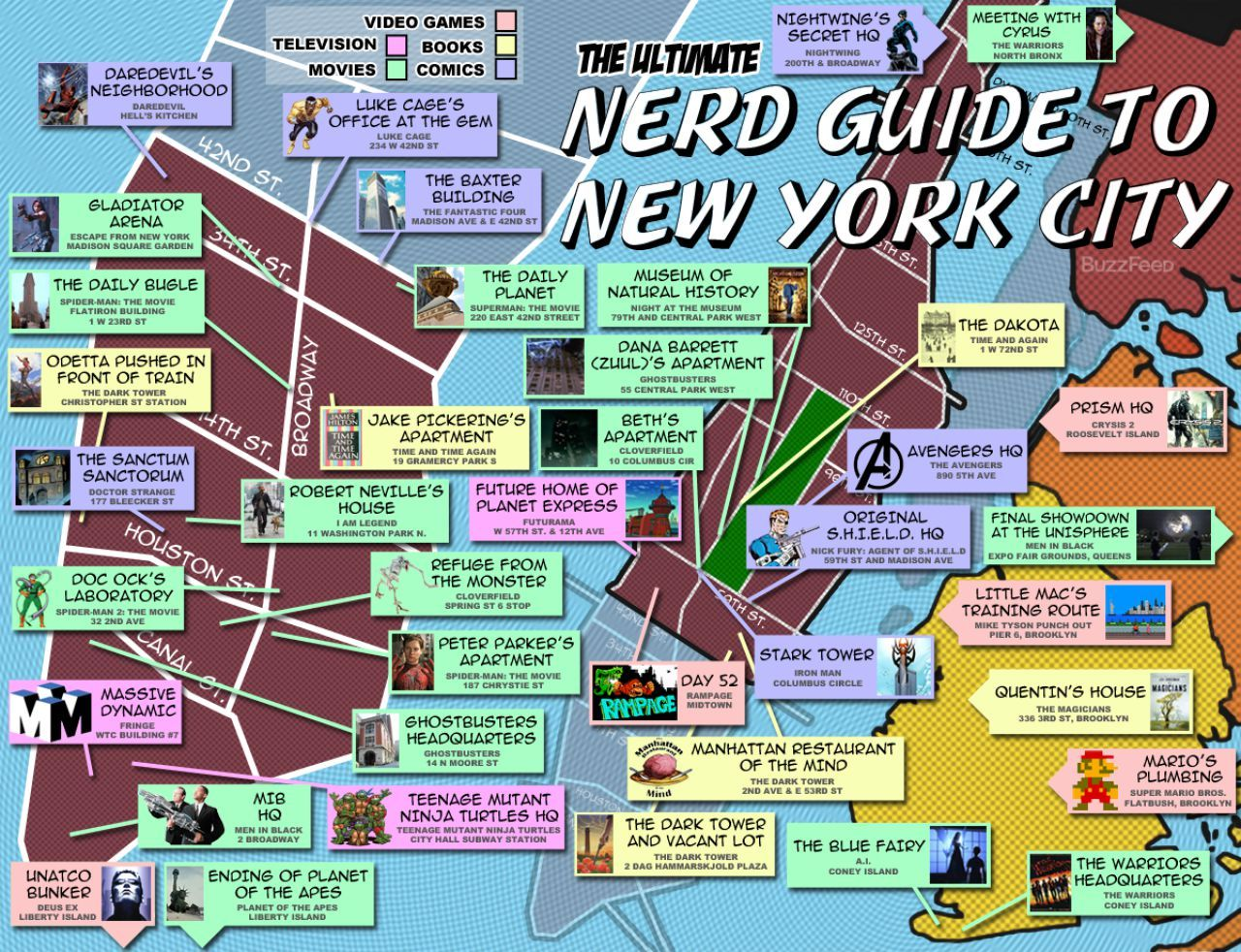 buzzfeed has a neat little map of new york city four out of five boroughs