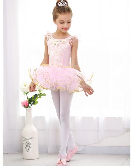Las Niñas De Ballet Clásico Tutu Skirt Dress New Kids Niños
