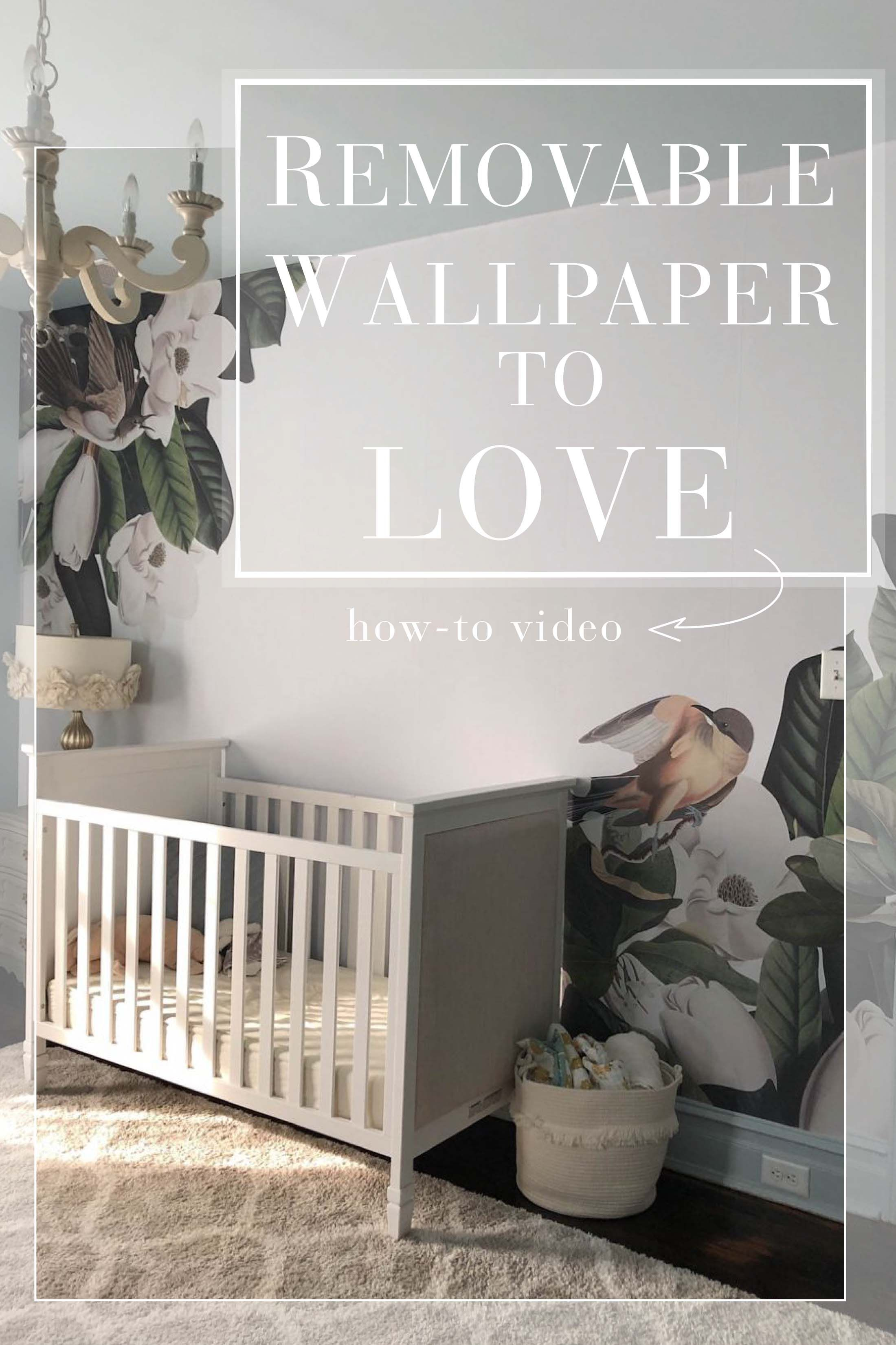 Let S Talk Removable Wallpaper The Peel Stick Florals I M Obsessed With Video How To The Mom Edit Removable Wallpaper Kids Room Wallpaper Diy Wallpaper