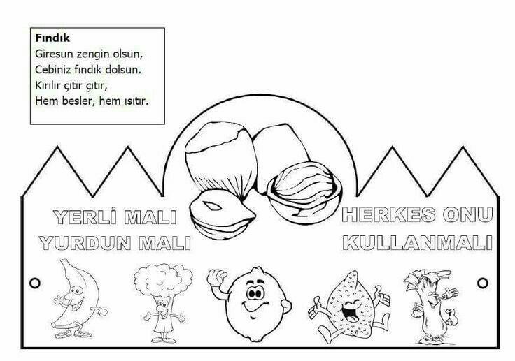 Gorkem Ucar Adli Kullanicinin Boyama Sayfasi Panosundaki Pin Boyama Sayfalari Faaliyetler Okul