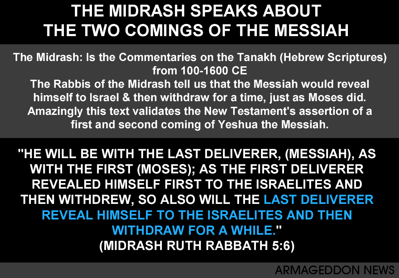 The Two Comings Of The Messiah According To The Rabbis