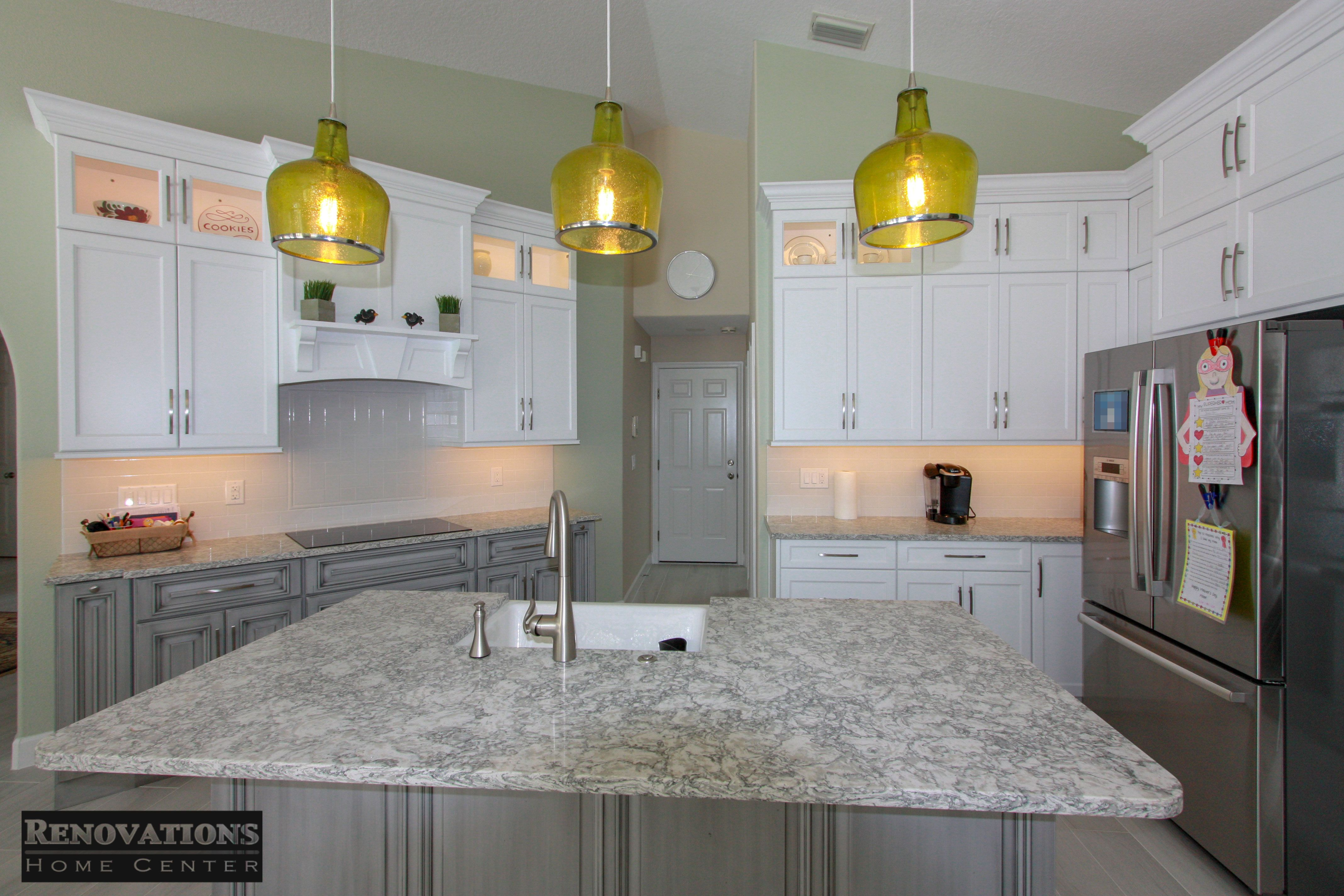 Yet Again Another Highly Satisfied Customer We Can Give Most Of The Credit For Thi Kitchen And Bath Remodeling Custom Kitchens Design Kitchen Bathroom Remodel