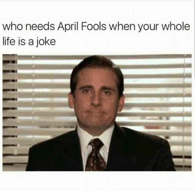 1st of April