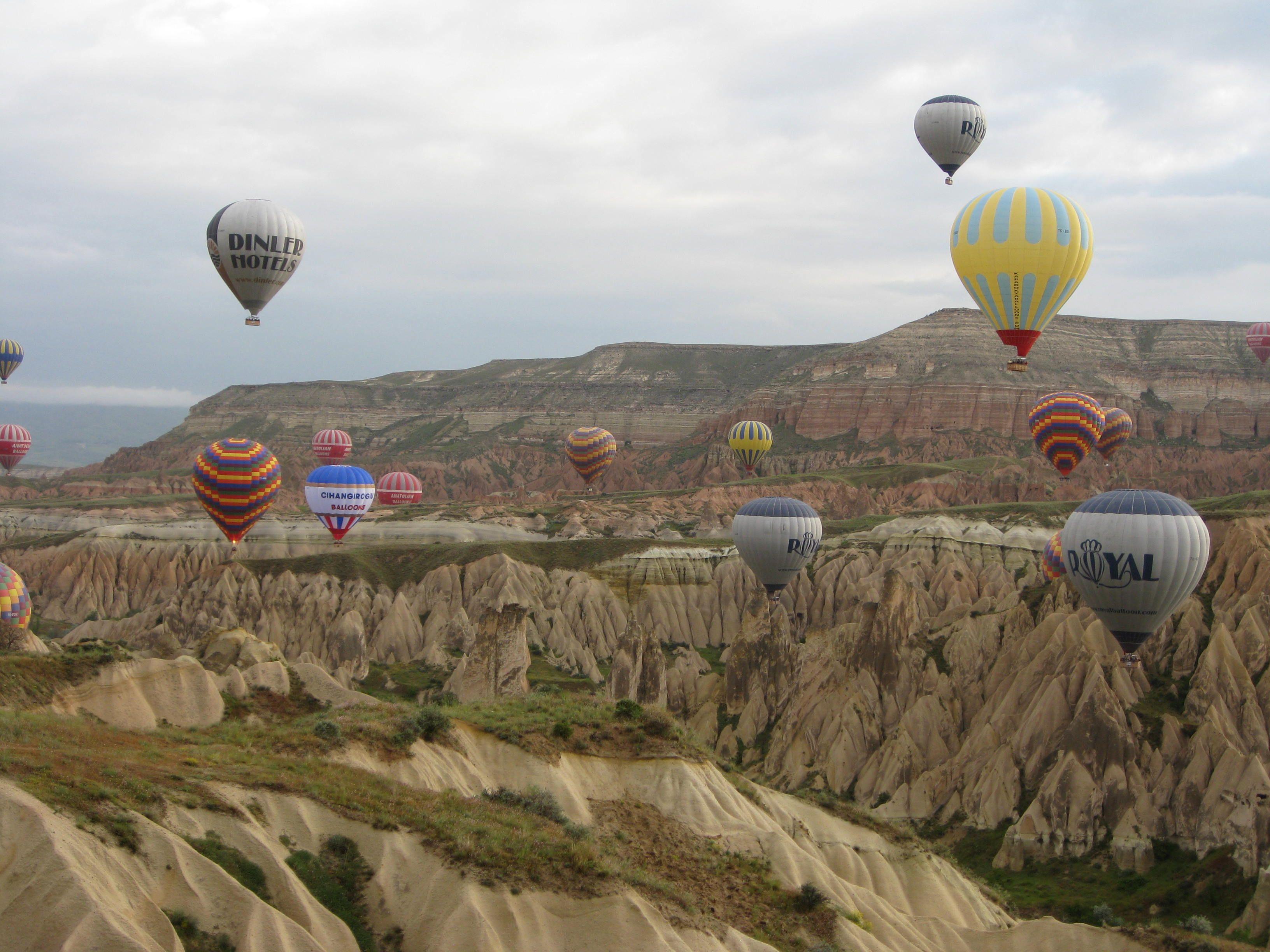 Turkey, Pamukkule beautiful stone formations, churches