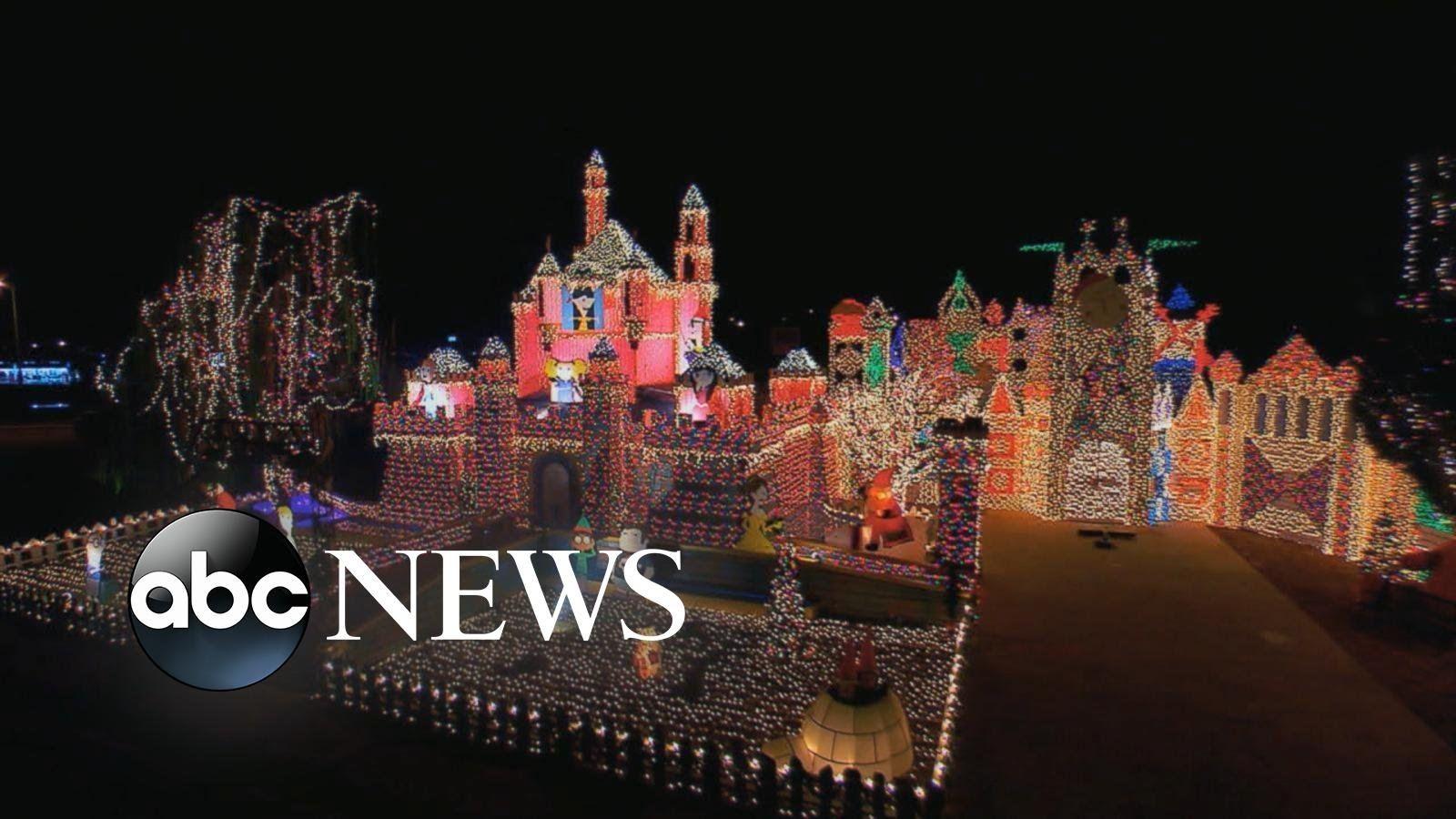 Entire Neighborhoods Battle for Best Christmas Light Display 2015 ...