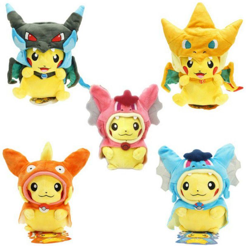 $8.99 (Buy here: https://alitems.com/g/1e8d114494ebda23ff8b16525dc3e8/?i=5&ulp=https%3A%2F%2Fwww.aliexpress.com%2Fitem%2FNew-2016-year-20-25cm-Pokemon-Pikachu-Cosplay-X-Charizard-Magikarp-Brinquedo-Plush-Toys-Fashion-Cartoon%2F32583906893.html ) New 2016 year 20-25cm Pokemon Pikachu Cosplay X Charizard Magikarp Brinquedo Plush Toys Fashion Cartoon Plush Toys for just $8.99