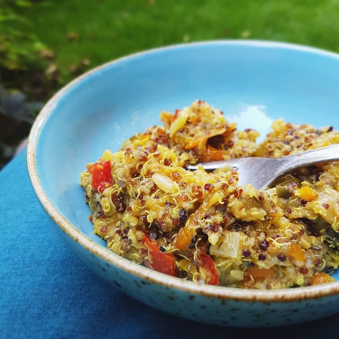 Quinoa Salat mit Gemse