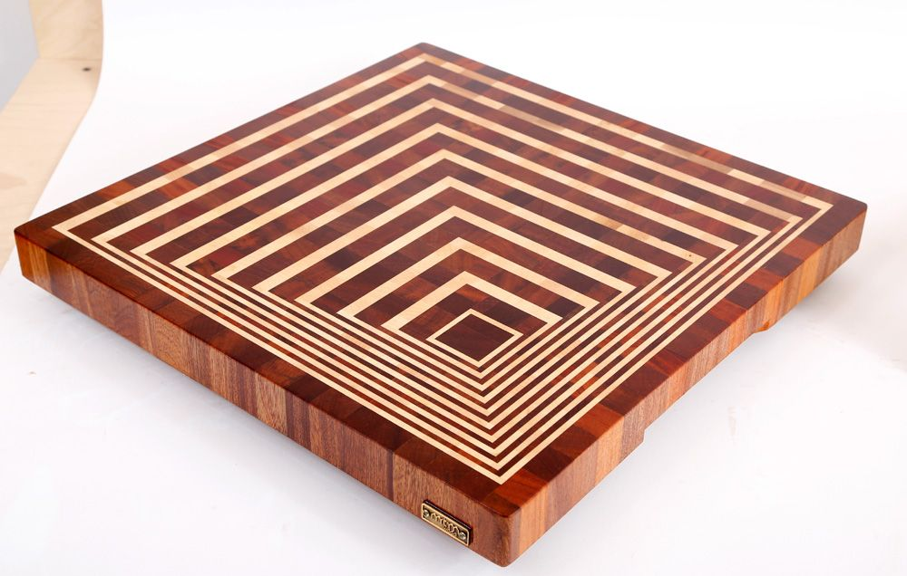 3d end grain cutting board 10 pinteres for Cutting board designs