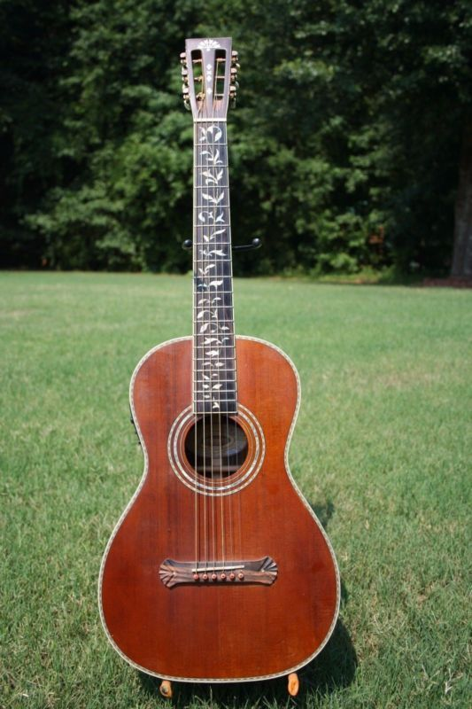 Washburn R320swrk Parlor Guitar With Fishman Presys 301 Blend Pickup