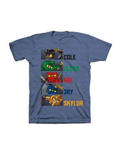 61189144bb56 Isaac Morris Boys 2-7 Lego Ninja Tee Blue 4   Products in 2019 ...